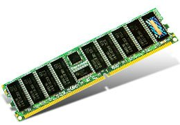 512MB DDR 400 PC3200 ECC Register 32Mx8/CL3 -