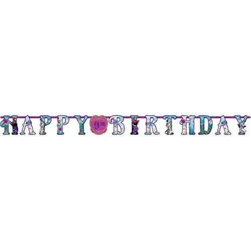 mit Buchstaben, Alter personalisierbar, 3,2 x 25 cm ()