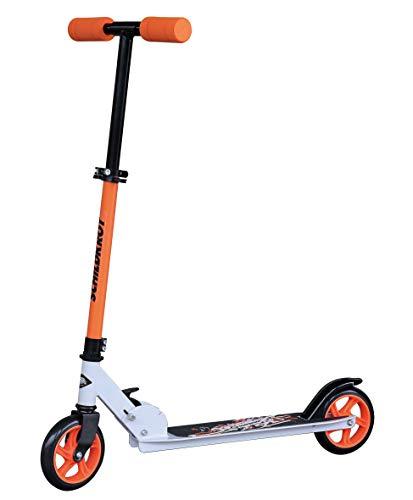 Schildkröt City Scooter RunAbout, Monopattino Unisex Bambino, Arancione, 510302, Taglia Unica