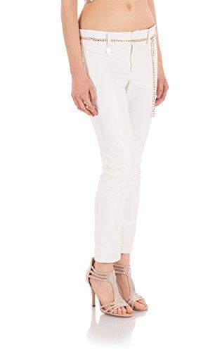 Ventifive, Pantalone Novella Bianco_48