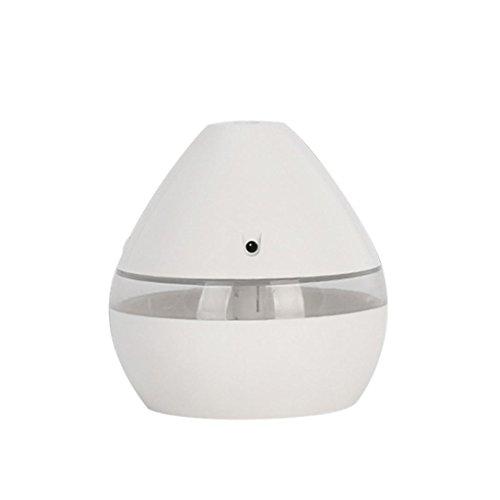 Aromatherapie-Luftbefeuchter HARRYSTORE Air Aroma Essential Oil Diffuser LED Ultraschall Aroma Aromatherapie Luftbefeuchter Ohne Ätherisches Öl (Weiß)
