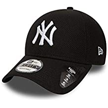 2be78baeae0fa A NEW ERA Gorra de béisbol 9FORTY Diamond York Yankees Negro-Blanco