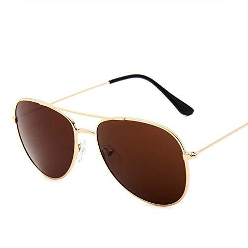 FIRM-CASE Metal Sonnenbrille Männer Frauen Maxi-Rahmen Sonnenbrillen Qualität Photochromie Objektiv Brillen, 8