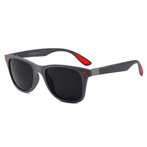 MAXJULI Polarisierte Sonnenbrille Herren Damen UV400 Schutz TR90 Rahmen F4195