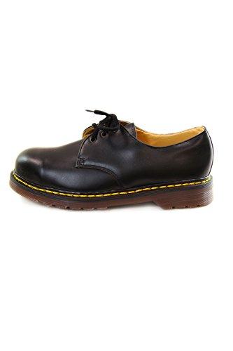 Dr. Martens Vintage Safety Steel Toe Shoes Black 3 Eyelet B-FH1925Z EU46 UK11