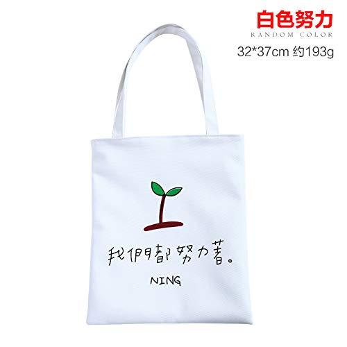 AAPP SHOP Sommer Wilde drucken Schultertasche Shopping Bag Canvas Tasche frische kleine Handtasche Sen weiblichen Beutel, C