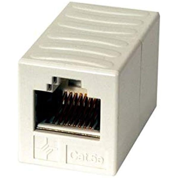 Telegärtner J00029k0052 Geschirmte Rj 45 Kupplung Computer Zubehör