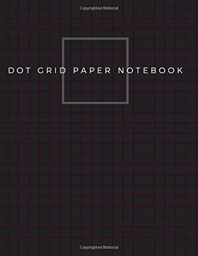 Dot Grid Paper Notebook: Dot Grid Paper Graph Dotted Journal Notebook Large 8.5 x 11 inches - 104 pages (Volumn 31)