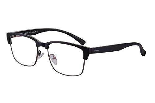 Shinu progressiva messa a fuoco multipla occhiali da lettura multifocus occhiali multifocali computer occhiali da lettura-sh018c20x (up+0.00, down+2.00)