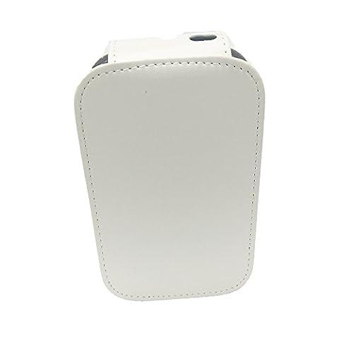 [Housse Etui D'impression HP Sprocket] -TaiYaun étui pour imprimé pour téléphone portable pour HP Sprocket Print Special Leather Holster Protection Package (Blanc)