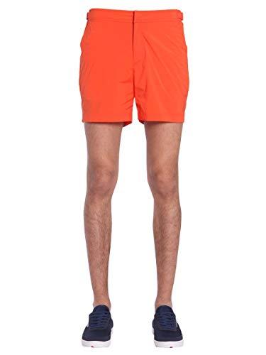 3956f80154 Orlebar Brown Men's 26656224625 Orange Polyamide Trunks