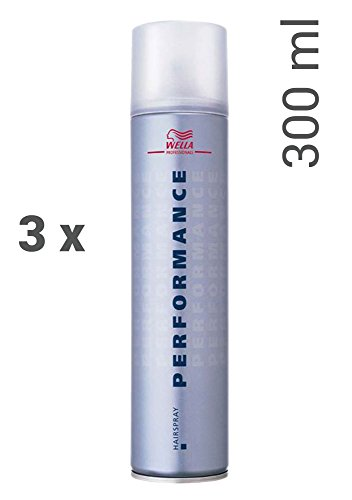 Wella Performance Haarspray 3 x 300 ml Styling Hairspray Professionals