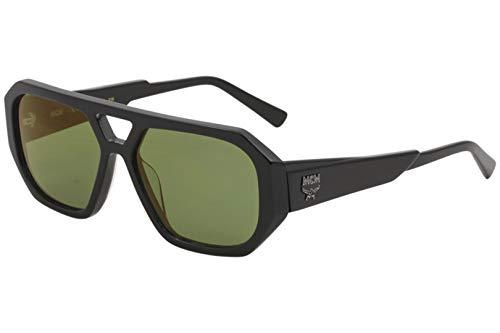 MCM MCM667S MCM/677/S 001 Damen Sonnenbrille Pilotenbrille 57 mm, Schwarz