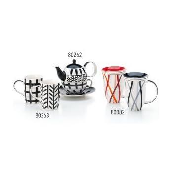 Tea for one Set Toni Keramik 0,2 l 0,4 l 4-teilig Kanne Tasse