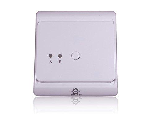 SM-PC®, Digital Funk Empfänger Unterputz weiß für Funk Thermostat #789