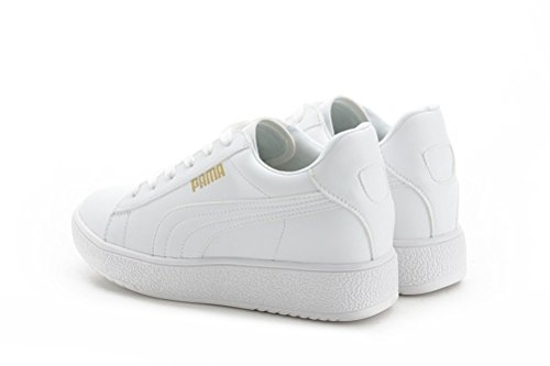 Damen Basketballschuhe Profilsohle Sneakers Bequeme Sportschuhe Weiß