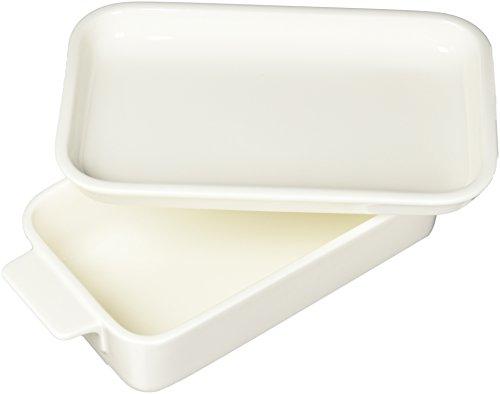 Villeroy & Boch Pasta Passion Lasagne-Form für eine Person, Premium Porzellan, Weiß