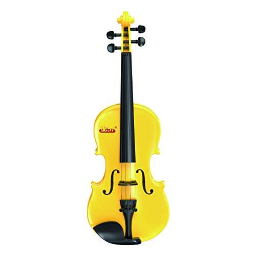 Colorful mini violino per principianti, principianti, classico, violino, chitarra pedagogica, giocattolo per bambini, gelb
