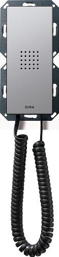 Gira 128103 Home Station Listener Profile 55 Pure White Glossy