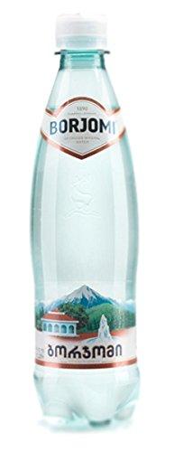 Borjomi Mineralwasser - 0,5 L -Glass   Georgische Mineralwasser
