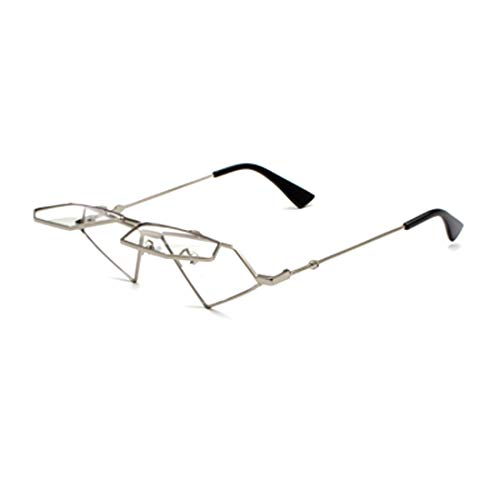 IOSHAPO Frauen Harajuku Stil Flip Sonnenbrille Hip Hop Retro dekorative Brille Rahmen Pop Brille Sonnenbrille
