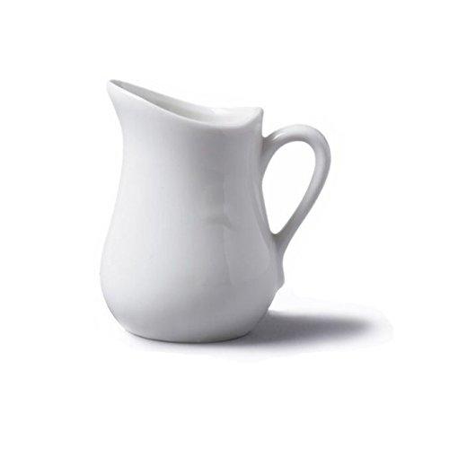Sammlung Grill Pan (CKS Traditional Style White Mini Ceramic 25 ml Ölkanne (Pack of 2))