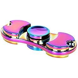 zhoke intranquilos de aluminio Spinner EDC Focus ansiedad alivio de estrés juguetes multicolor colorful