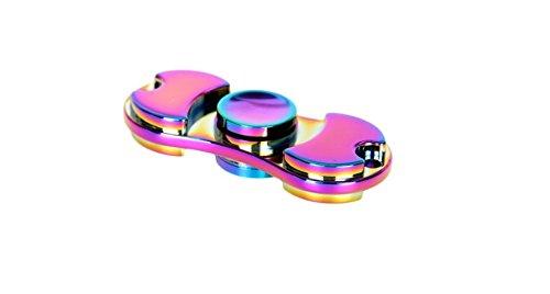 ZHOKE-colores-aluminio-aleacin-mano-Spinner-EDC-Fidget-juguete-estrs-reductor