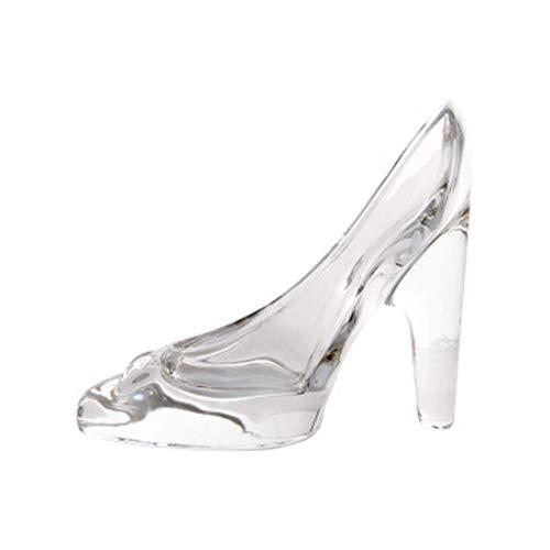 lglas Schuhe Ornament Glasschuh Transparent Glas Schuh Deko Schuh,Valentinstag Geschenk ()