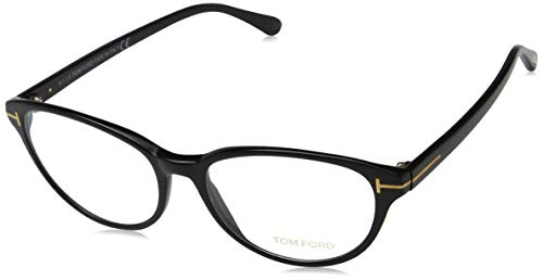 Tom Ford Damen Brille Ft5422 001 53 Brillengestelle, Schwarz,