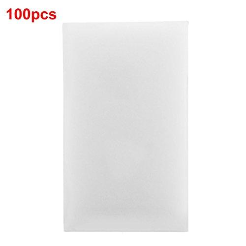 dfhffghfdgjfh 100pcs / lot White Magic Sponge Eraser Melamine Cleaner Herramienta de...