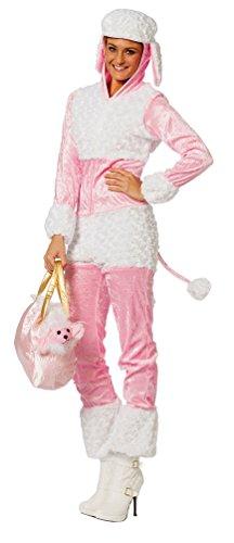 Karneval-Klamotten Pudel-Kostüm Damen Hund Hunde-Kostüm Karneval Damen-Kostüm Größe - Pudel Kostüm Für Erwachsene