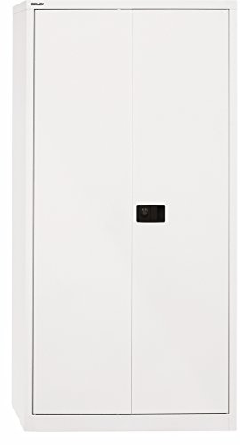 Aktenschrank abschließbar weiß  Aktenschrank abschließbar metall - Ein Flügeltürenschrank aus Metall