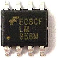 Fairchild LM358MX LM358 Semiconductor Amp SOP-8 Dual Operativo (Pack de 1)