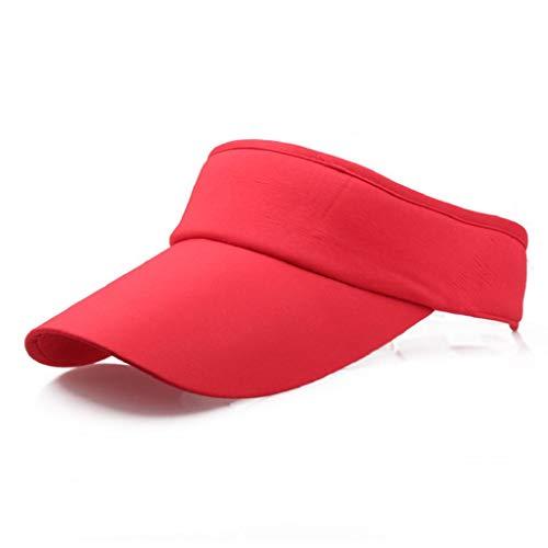 VECDY Unisex Hüte Männer Frauen Sport Stirnband Classic Sun Sports Visor Hat Cap Damen Strandhut Herren Golf Hüte Reisehut Mode Strandhut -