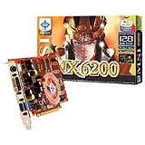 MSI NVidia GeForce NX6200-TD128E Grafikkarte 128MB DDR RAM (PCI16x-Ex DVI/TVO)