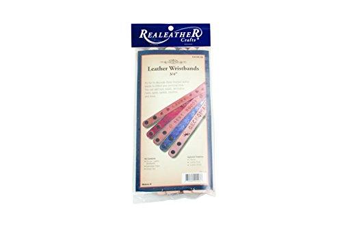 Realeather Crafts Leder Lederwaren Kit schmal Armbänder 8kg - Armband Craft Kit