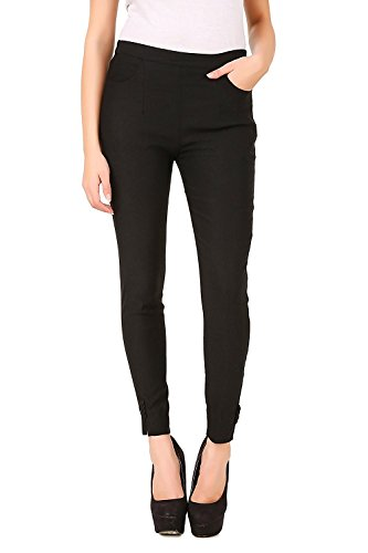 Facio Fashionable Cotton and Lycra Strechable Slim Fit Straight Casual/formal Cigarette Pant, Jegging, Trouser