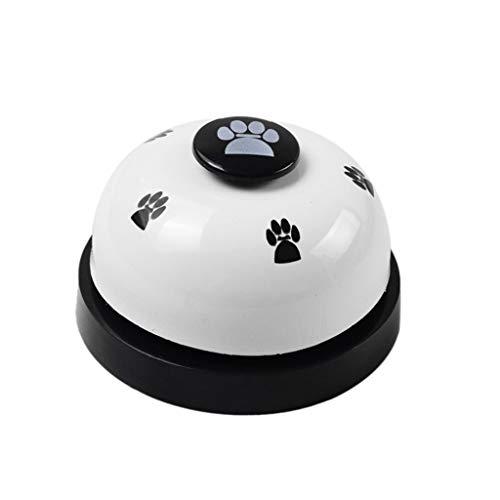 Lomsarsh Pet Training Glocken Hund Glocken für Töpfchen und Kommunikationsgerät Metall Sound Glocken Fußabdrücke Intelligenz Spielzeug