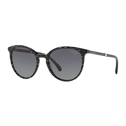 Occhiali da sole donna chanel ch 5394h 1636s8 3p nero polarizzati sunglasses 140