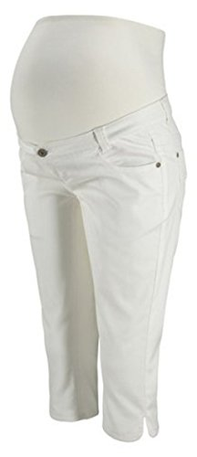 BequemBequeme lässige 5-Pocket-Caprijeans, die zu viele verschiedene Oberteile passt. Der elastische Bundeinsatz sorgt für einen hohen Tragekomfort. Perfekt kombinierbar mit einem Shirt oder einer Tunikae Jeans-Qualität aus 72% Baumwolle, 26% Polyest...