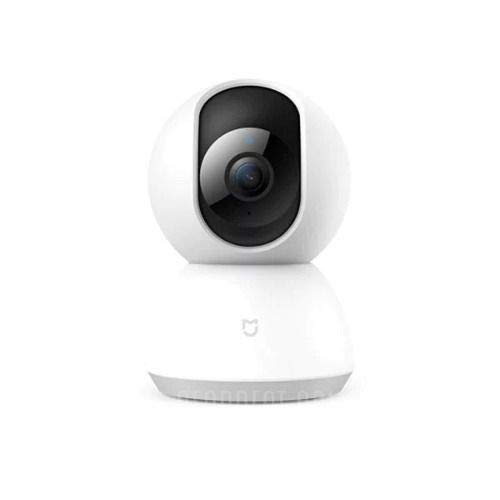 Xiaomi Mi Home Beveiligingscamera 360 ° Interne IP-beveiligingscamera Plafond / muur / bureau 1080p-lamp