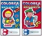 Colorea y recorta/ Color and Cut