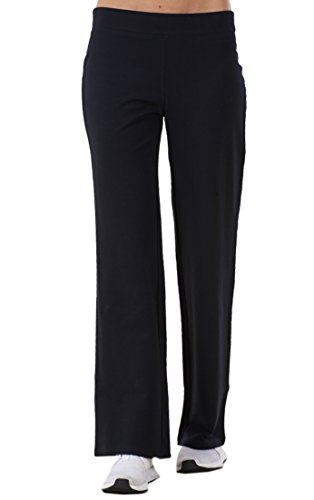 Pantalones chándal mujer - Corte recto - Ideales