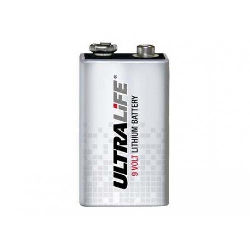 Batería de litio ULTRALIFE tipo CR9V bloque de 9V, litio, 9V