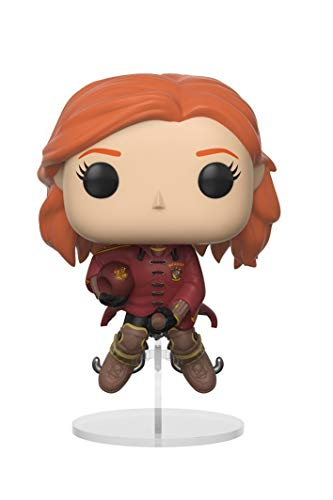 Funko 26706 S1 Pop Vinylfigur Harry Potter Ginny on Broom, Multi, 10 cm