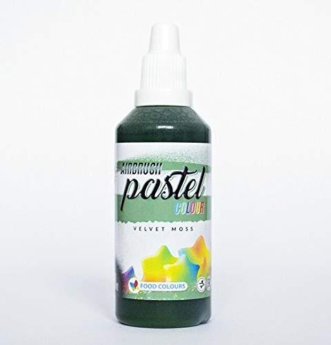 Moss Velvet (Food Colours Airbrush Lebensmittelfarbe Pastel Velvet Moss (60 ml))