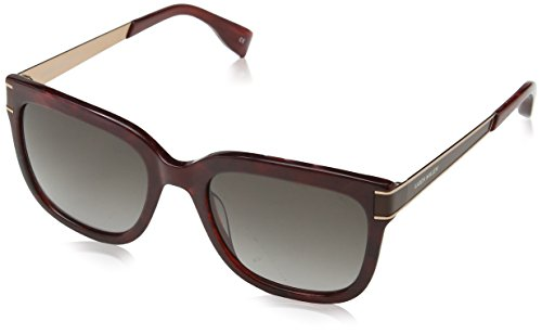 KAREN MILLEN Damen Km500920454 Sonnenbrille, Violett (Burgundy), 54
