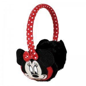 Preisvergleich Produktbild Disney Minnie Maus Ohrenwärmer Plüsch Ohrenschützer 3D - One Size