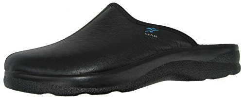 Fly Flot 880355 hommes chaussons Noir